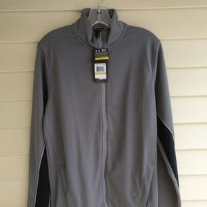Under Armour Mens Warm Up Jacket Gray Small